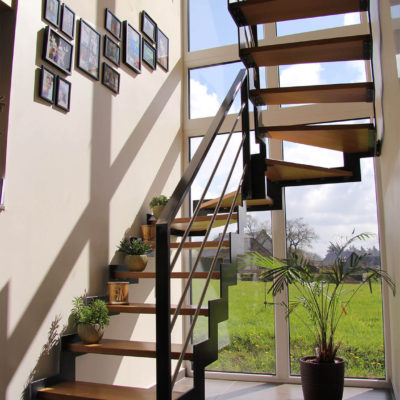 Menuiserie Pierre Hertay - Création d'escaliers en bois