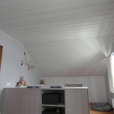 Menuiserie Pierre Hertay - Plafond et cloison en bois