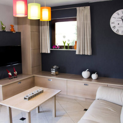 Menuiserie Pierre Hertay - meuble tv bois